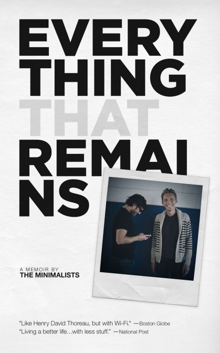 Everything That Remains cover by Joshua Fields Millburn and Ryan Nicodemus
