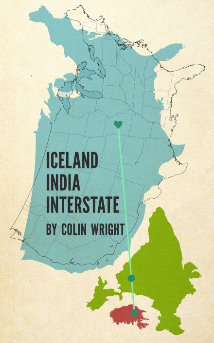Iceland India Interstate by Colin Wright cover